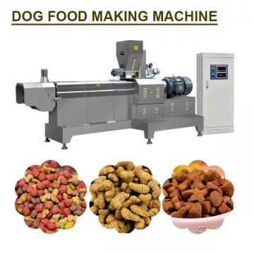 120kg/h Capacity Stainless Steel dog Food Manufacturing Equipment With Long Shelf Life