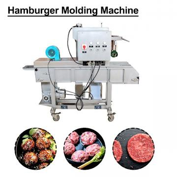 Newest Design Customized Mold Hamburger Patty Machine With Low Noise