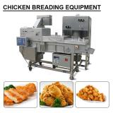 New Design 1000kg/h Capacity Breading And Battering Machines For Chicken Nugget