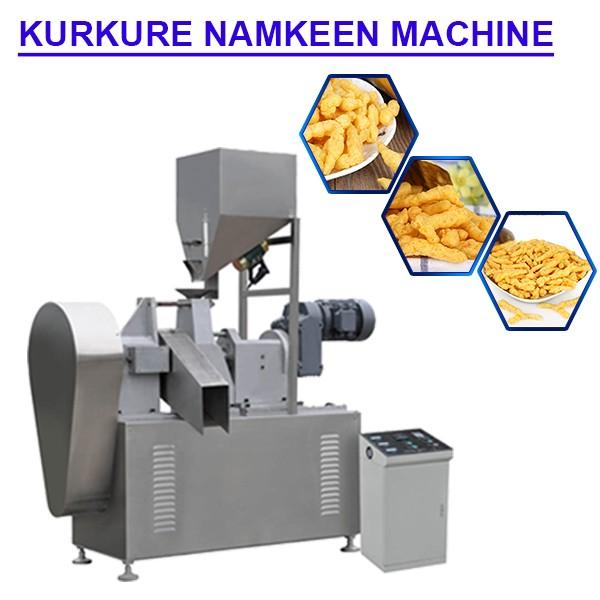 200kg/h Capacity High Efficiency Kurkure Machine With Easy And Simple Operation #1 image