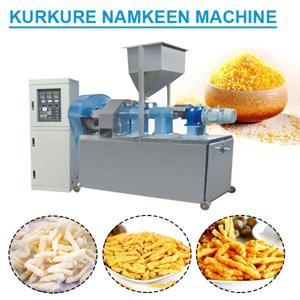 Factory Price 80Kw Kurkure Production Line With Corn Grits As Main Materials #1 image