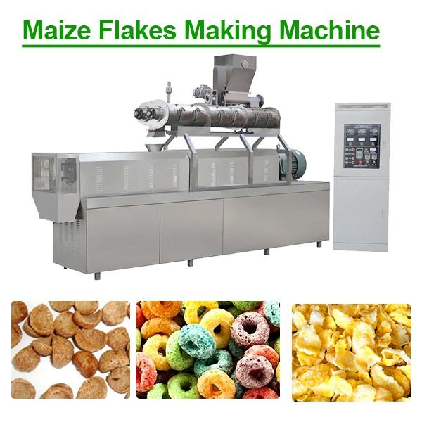 Industrial Multifunctional Corn Flakes Machine With Corn Powder As Main Materials #1 image