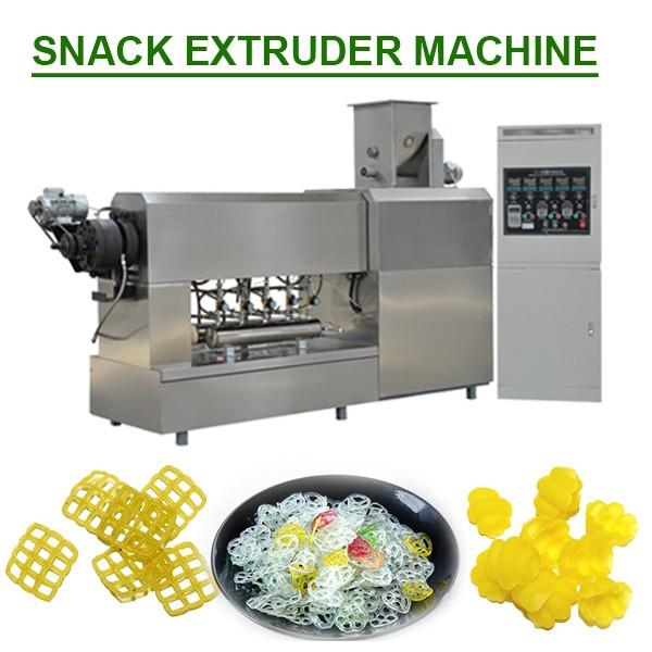 Wholesale Price High Automation Snack Food Extruder With Corn As Main Materials #1 image
