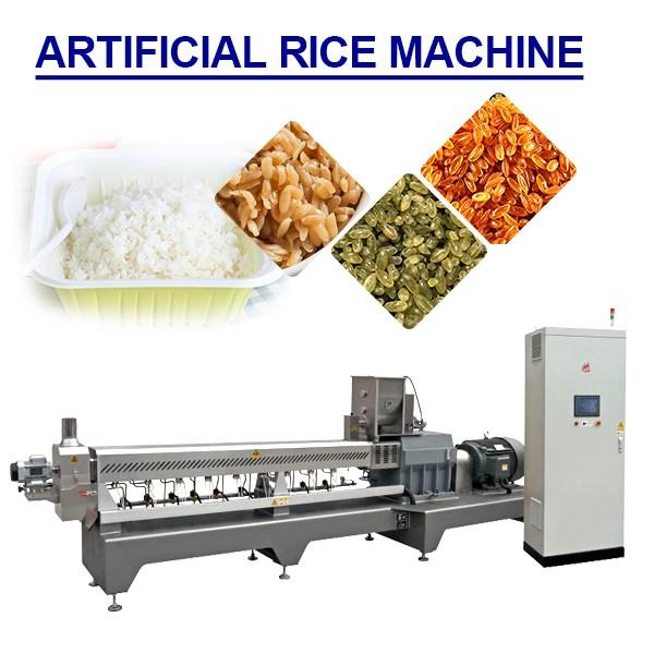 Hot Sale Artificial Rice Production Line With Rice Flour As Main Material #1 image