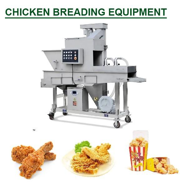 Factory Supplier High Efficiency Automatic Batter Breading Machine With Easy To Move #1 image